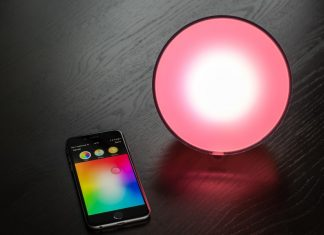 Smart Lamp Controlled by Smartphone